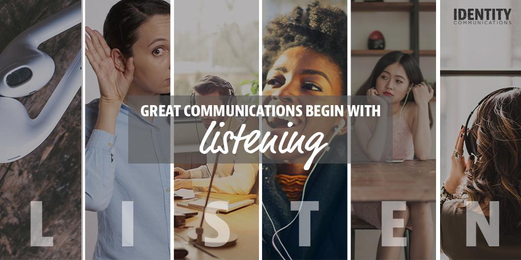START BY LISTENING